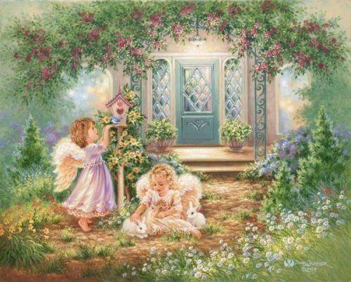 Красивые картинки ангелов Нэнси Ноэль