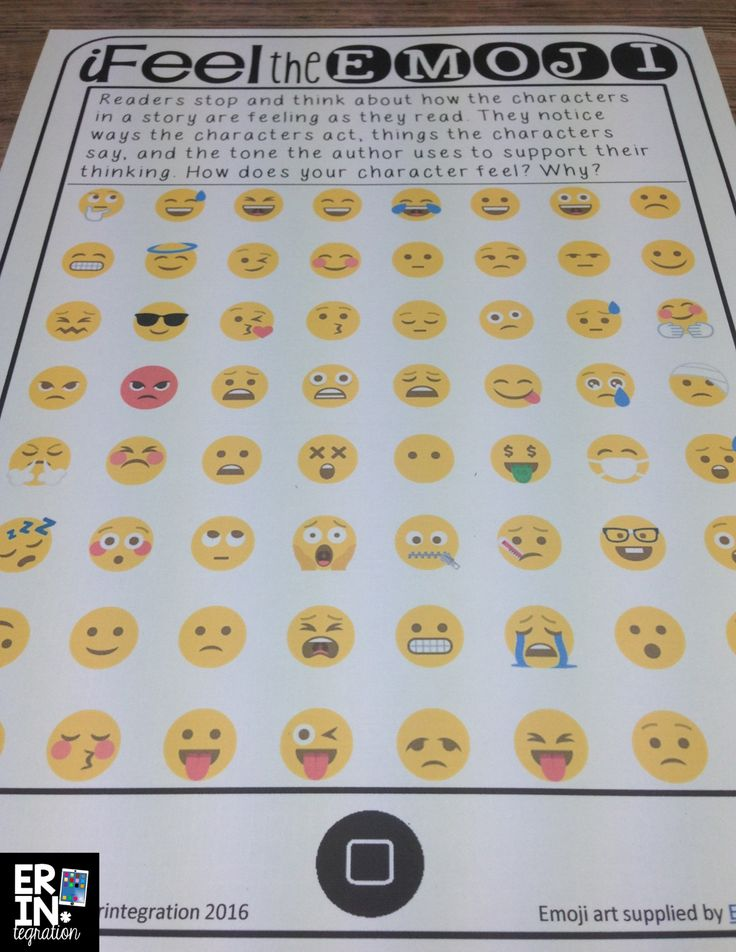 10 ways to utilize emojis in the classroom - includes free downloads (like this character anchor chart & recording sheet!) and tons of ideas!
