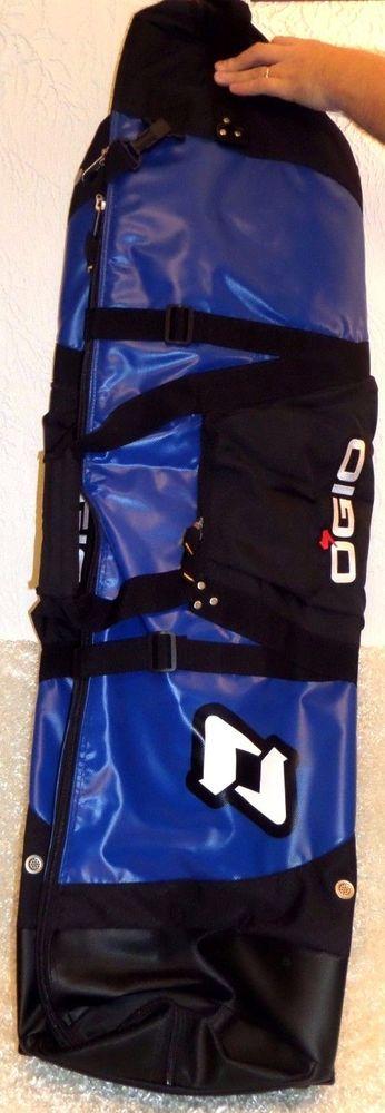 Rare Ogio STRAIGHT JACKET Travel Cover Golf Bag - NIB Royal Blue Military Grade  #Ogio