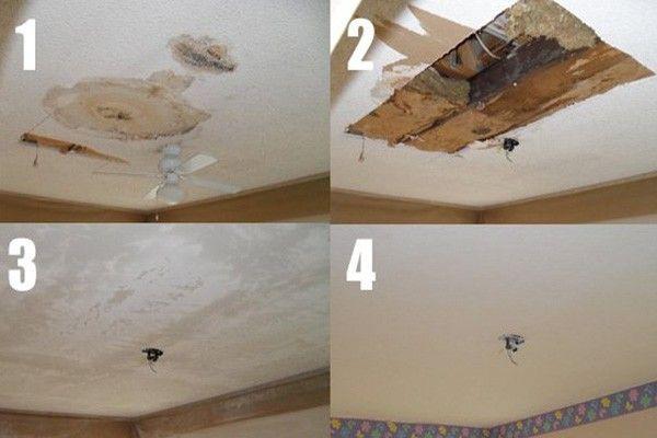 Repair Popcorn Ceilings