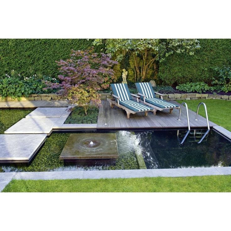 410 best wasser im garten images on pinterest for Convert pool into garden