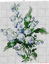 lily of the valley cross stitch pattern - Google otsing