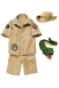 Camren's costume! GYMBOREE ZOO KEEPER COSTUME