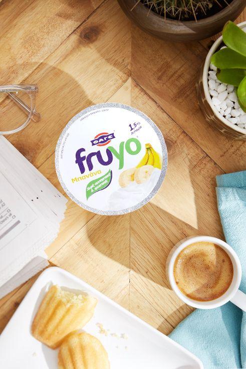 Ξεκίνα τη μέρα σου με ένα Fruyo Μπανάνα!