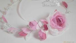 Винтажные розы веночек