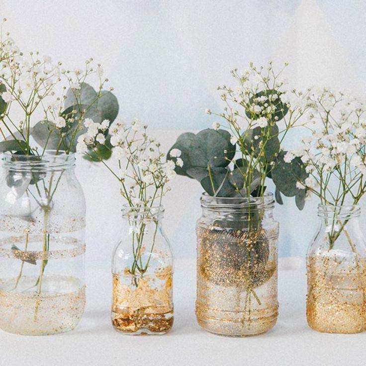 Personnaliser des bouteilles recyclées pour votre décor de mariage – G R E E N E R Y