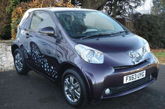 Used 2013 (63 reg) Purple Toyota IQ 1.0 VVT-i 2 3dr for sale on RAC Cars
