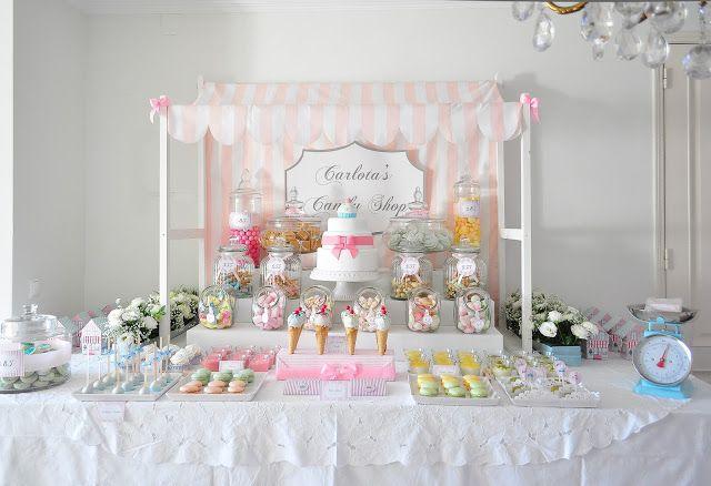 Blog da Carlota: A festa de 2 anos da baby C - Carlota's Candy Shop