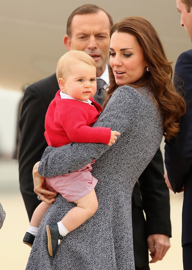 Is that a bilby????| Prince George Saved His Best Unimpressed Facial Expressions Until Last
