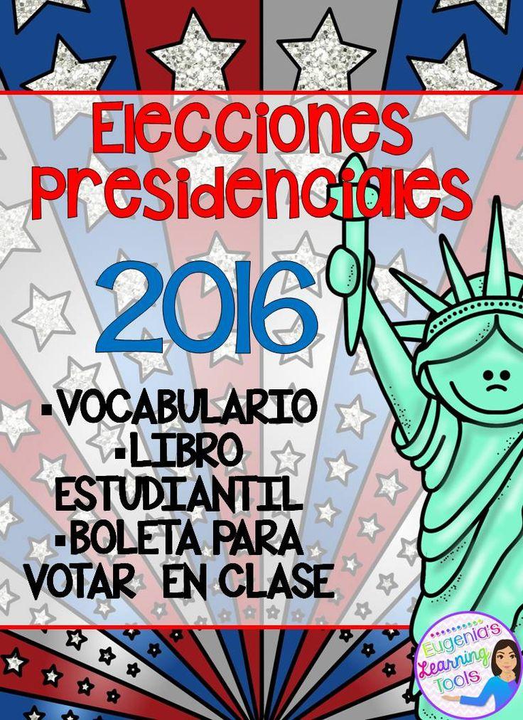 Elecciones presidenciales 2016.