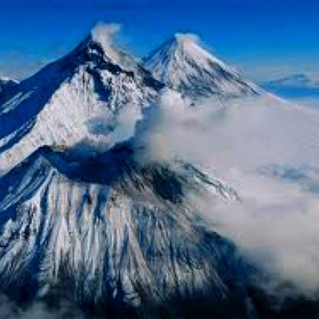 Volcanes de kamchatka