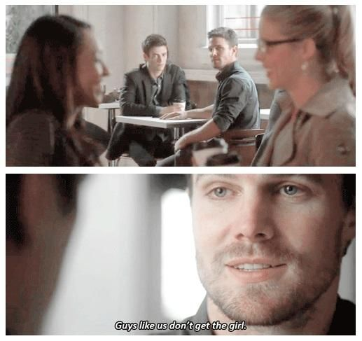 That's nonsense talk, Oliver. Just stop it. | Oliver Queen and Barry Allen #TheFlashvsArrow ♥