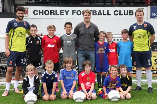 Places are still available for the Chorley FC Soccer School during the Easter holidays
