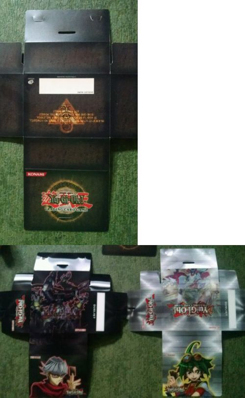 Yu-Gi-Oh Mixed Card Lots 49209: Yugioh Deck Box Deck Box X3 Holographic Tournament Vintage 1996 -> BUY IT NOW ONLY: $36.99 on eBay!