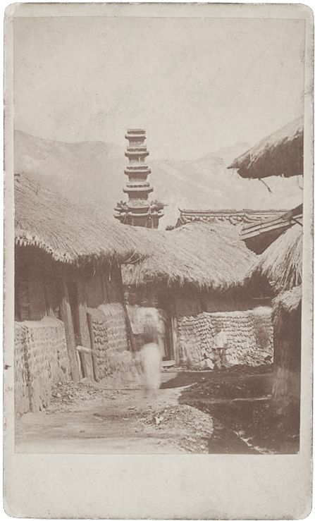 """""""The only pagoda in Seoul."""" By Ogawa, Isshin, 1886. Natl Anthropological Archives SIRIS"""