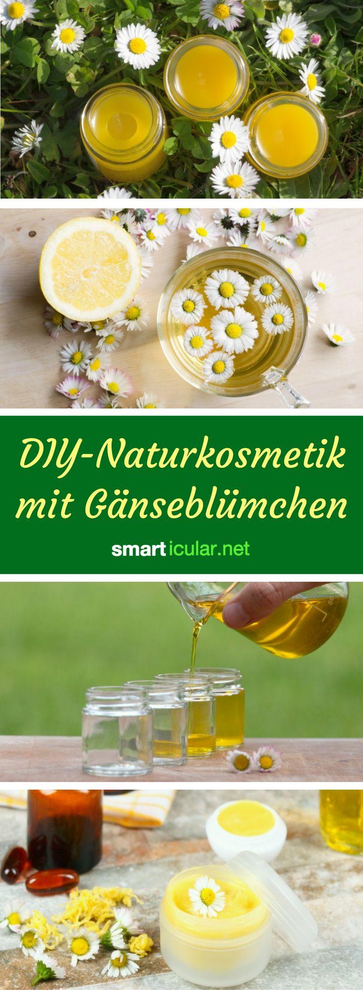 Naturkosmetik aus Gänseblümchen: All das kannst du aus den heilsamen Blüten machen