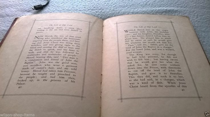 BOOK RARE BOOK-CHARLES DICKENS THE LIFE OF OUR LORD-DON'T MISS  LET IT GET AWAY