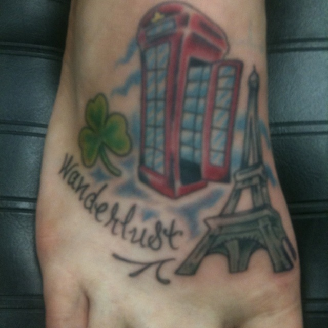 35 Best Travel Tattoos Images On Pinterest