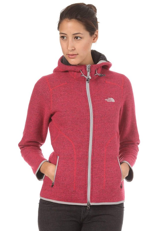 THE NORTH FACE Womens Zermatt Hooded Zip teaberry pink heather planetsports
