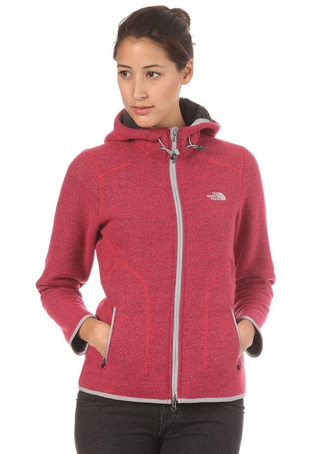 THE NORTH FACE Womens Zermatt Hooded Zip teaberry pink heather