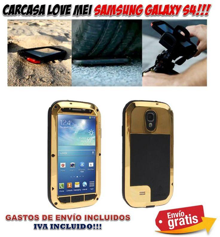 #carcasas #fundas #moviles #telefonos #samsung #galaxy #galaxy s4 #ofertas #gadgets #protectores #telefonia #accesorios  Carcasa aluminio de protección extrema para Samsung Galaxy S4 / SIV. Comprar fundas y carcasas protectoras para teléfonos móviles a precios baratos. http://www.yougamebay.com/es/product/carcasa-proteccion-extrema-love-mei-samsung-galaxy-s4--siv---fundas-moviles-baratas