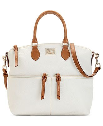 Dooney & Bourke Handbag, Dillen II Double Pocket Satchel - Dooney & Bourke - Handbags & Accessories - Macy's
