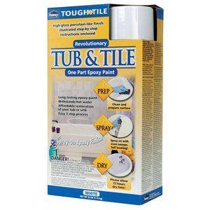 Homax 720771 Tub and Tile Epoxy Spray Paint, White