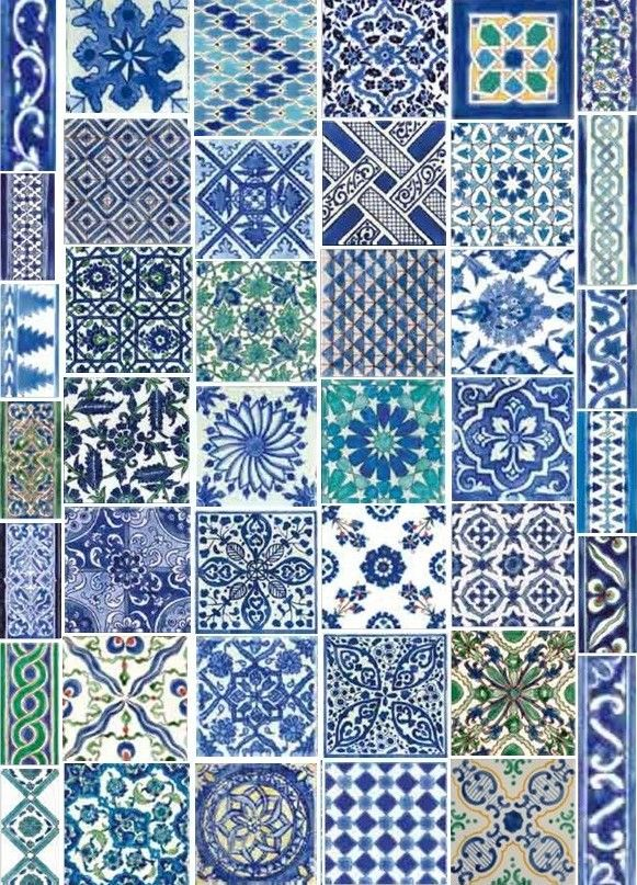 Dor mail hand painted tiles from nabeul tunisia check for Carrelage tunisie