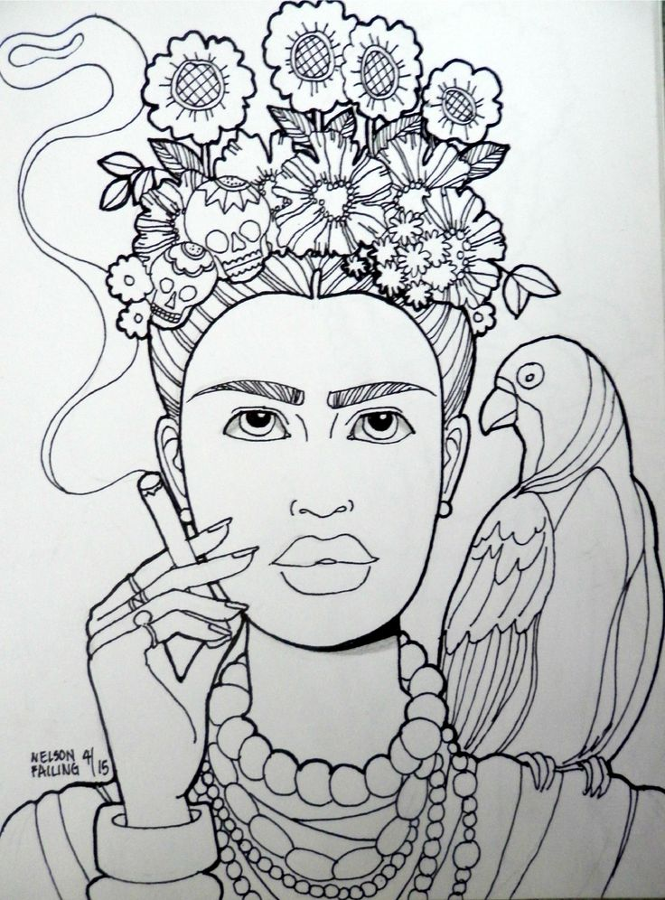 FRIDA KAHLO...Nelson Failing...The Art Colony