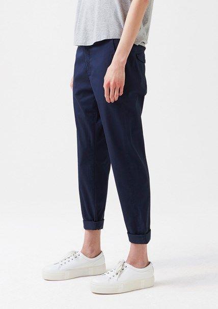 News Trouser Dark Blue