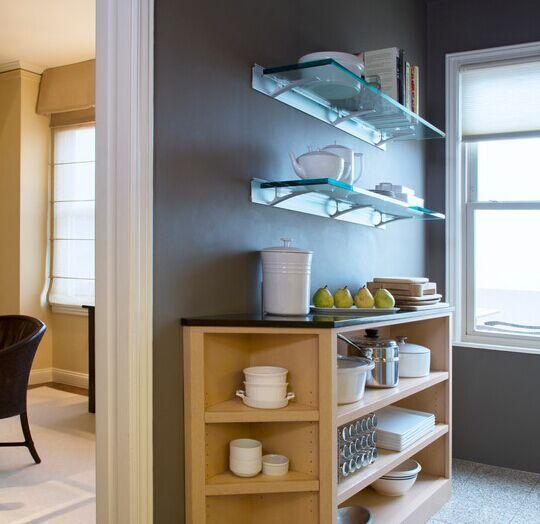 Buy glass shelf brackets / tempered glass shelves / bathroom corner glass shelf - shandonglinrui