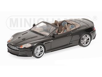 Aston Martin DBS Volante (2010) Diecast Model Car by Minichamps 400137930 This Aston Martin DBS Volante (2010) Diecast Model Car is Black and features working wheels. It is made by Minichamps and is 1:43 scale (approx. 9cm / 3.5in long).