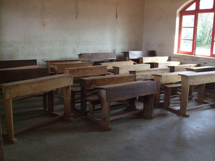 inside a classroom in Kirundo