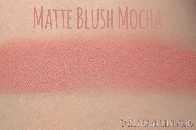 MAC Matte Blush Mocha Swatch