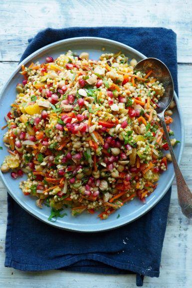 Couscous salat vegetar