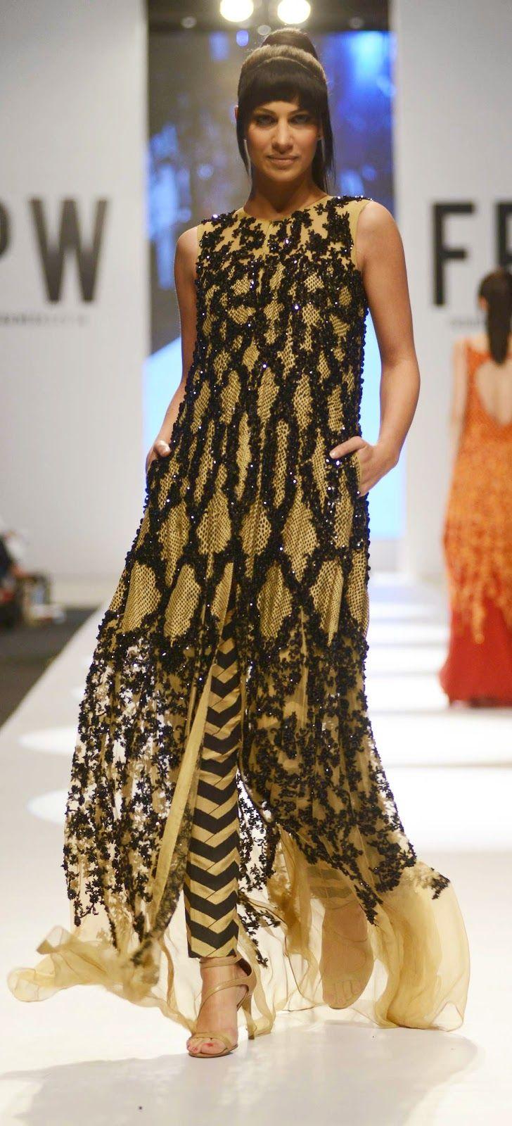 Karachista: Fashion Pakistan Week 6 - HSY - Hassan Sheheryar Yasin - Spring 2014 - Venom collection