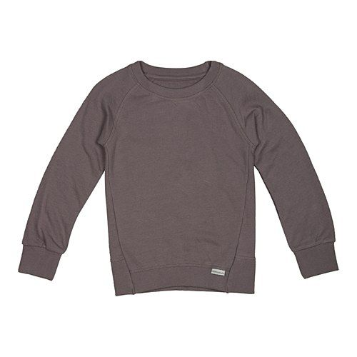 Grey Solid Pullover www.ladida.com