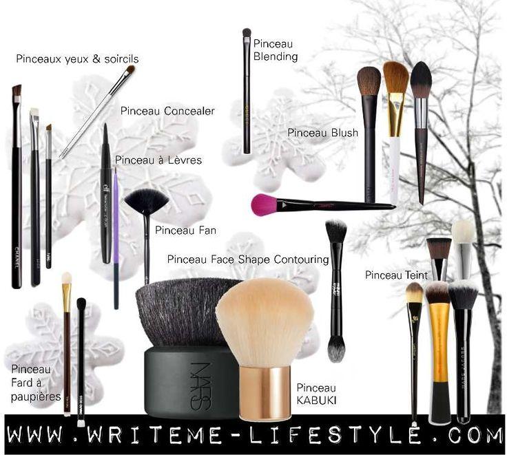 17 meilleures id es propos de pinceau maquillage - Pinceaux maquillage utilisation ...