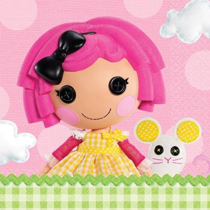 lalaloopsy lunch napkins (16) Case of 12