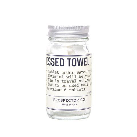 Prospector Co. Compressed Towel Tablets www.westgoods.co
