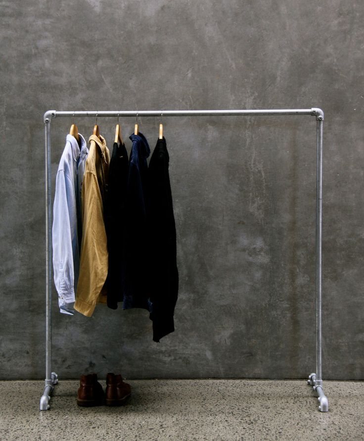 Industrial Clothes Rack - George&Willy