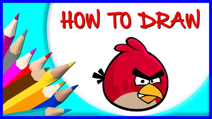 How to Draw Angry Bird | Drawing Time Lapse | 853672 HTD