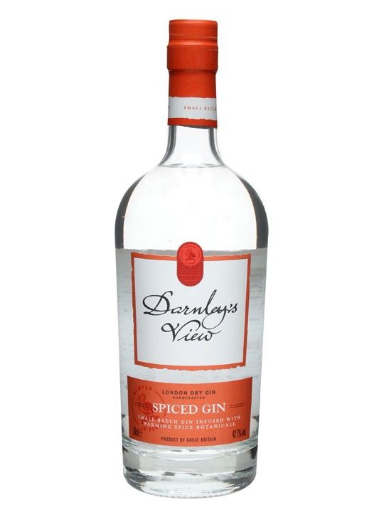 Darnley's View has been named to celebrate the first sighting of Lord Darnley by Mary Queen of Scots. Darnley's View is a small batch London Dry Gin. The spiced version, as the name may imply, is m...