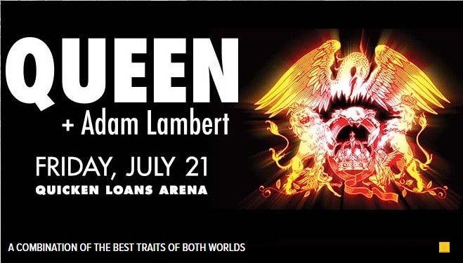 Queen w/Adam Lambert - 7/31/2017 - Quicken Loans Arena, Cleveland, Oh.