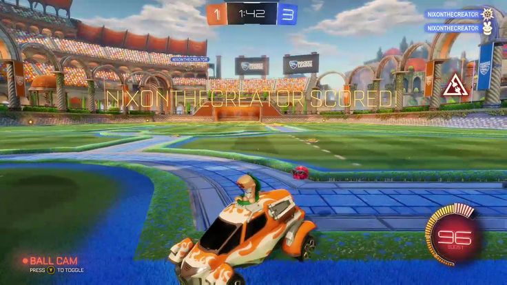 Rug plays: Rocket league u/nix0n vs u/bad_rug round 2