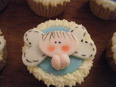 cupcakes para bautizo : cupcakes de fondant para bautizo  cupcakes de angelitos  cupcakes de bebes  pasteles para toda clase de evento  cursos de pasteles  cursos de decoración de pasteles  cursos de decoracion en fondant  cursos de galletas decoradas    informes 83 595727 y nextel 18083751 | cupcakes_yummie