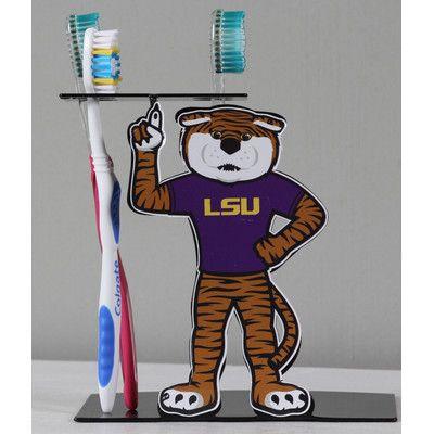 HensonMetalWorks LSU Mascot Toothbrush Holder