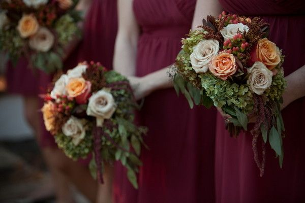 Fall Wedding Bouquets, /// photography by: Tiffiney Photography