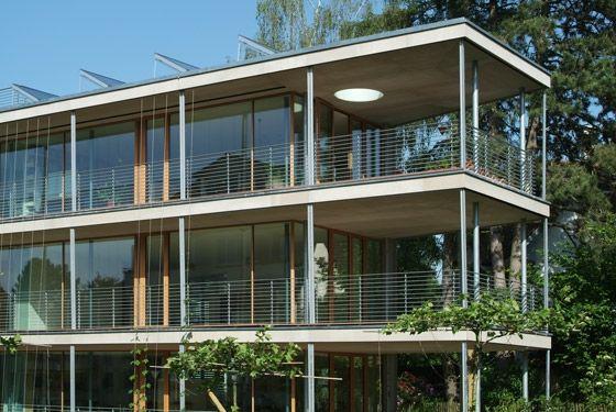 Halle 58 Architekten-Neubau Gebhartstrasse