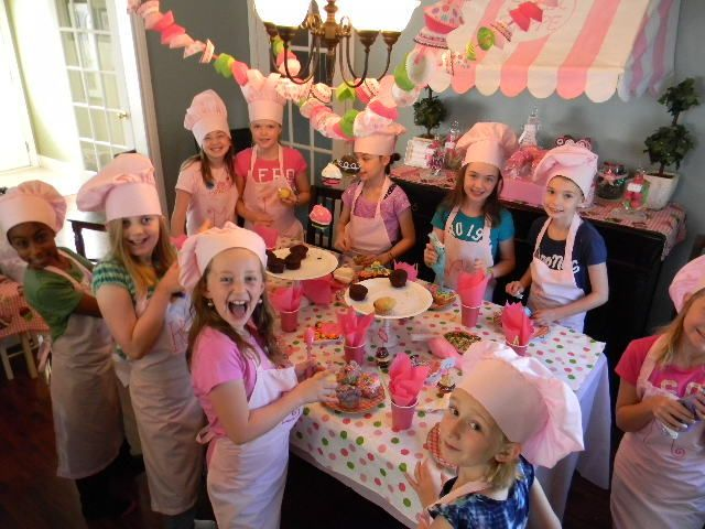 "Photo 1 of 26: Cupcake Decorating Party / Birthday ""Meghan's 10th Birthday"" 